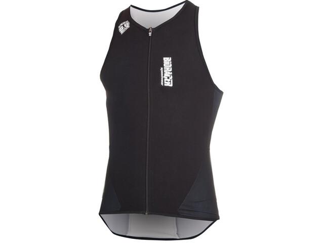 Bioracer Tri Top Zipper hvid/sort | swim_clothes